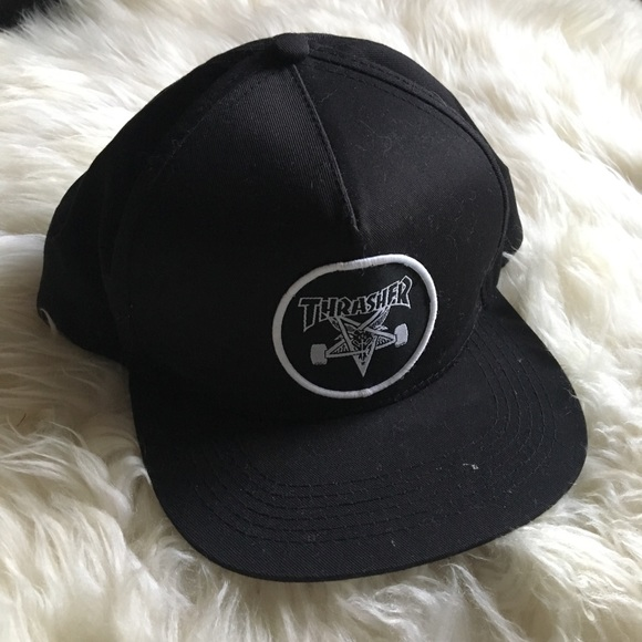 1a1e3c7ca4a Thrasher SnapBack Hat. M 5a5e9f632ae12ffe1a7a2541. Other Accessories ...